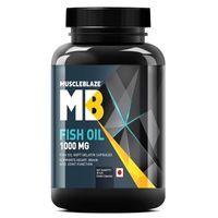 MuscleBlaze Fish Oil 1000mg Capsules