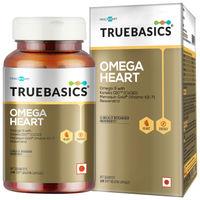TrueBasics Omega Heart Softgel Capsules