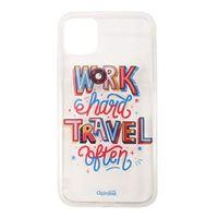 Chumbak Work Hard Travel Often 3d Iphone 11 Pro Case