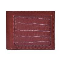 Belwaba Genuine Leather Brown Bi-fold Men's Wallet