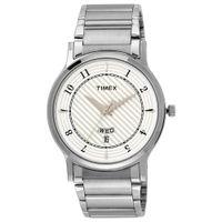Timex Classics Analog Silver Dial Men's Watch (TI000R422)