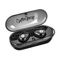 Macjack Wave 200 True Wireless Earphones With Touch Control & Mic Auto Paired 20 Hrs Playback Ipx5