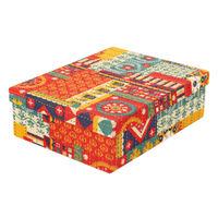 Chumbak Floral Swirls Storage Box XL
