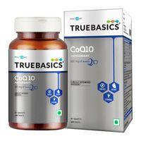 TrueBasics Coq10 (coenzyme Q10),120 Mg Of Kaneka Q10 Tablets
