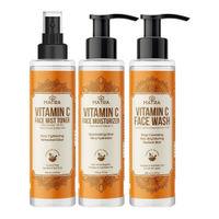 Matra Vitamin-C CTM Routine - Cleanse Tone & Moisturize
