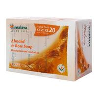 Himalaya Almond & Rose Soap - Pack of 4