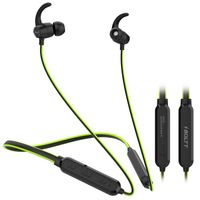 Fire-Boltt Echo 1100 Bluetooth 5.0 Earphone Google & Siri Assist, Adjustable with Magnetic Earbuds