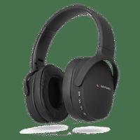 Lumiford Hd70 Over-ear Wireless Hd True Bass Headphones With Built-in Mic (Black)