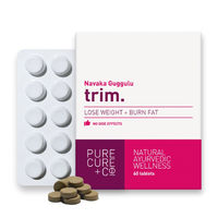 Pure Cure + Co. Trim Lose Weight + Burn Fat 60 Tablets