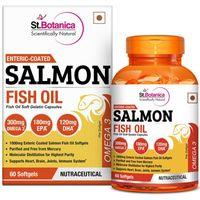 St.Botanica Enteric Coated Salmon Fish Oil 60 Softgels