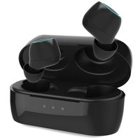 UNIGEN AUDIO Unipods Mini Compact True Wireless Earbuds With In-built Mic For Calling (black)
