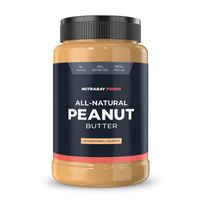 Nutrabay Foods Natural Peanut Butter Unsweetened - Crunchy