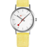 Mondaine Classic Hours Analog Dial Color White Men's Watch- A660.30360.17SBE