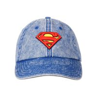 Free Authority Superman Printed Blue Cap For Men