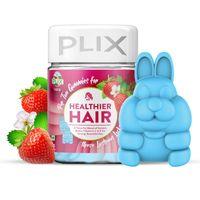 Plix Olena Hair & Nails Gummies With Biotin - Strawberry