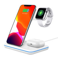 UNIGEN AUDIO UNIDOCK 200 3-in-1 15W Wireless Charging Station for iWatch AirPods 2/Pro & Qi Enabled