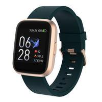 Crossbeats Ignite Smart Watch 1.4'' Full Touch Men Women Fitness Tracker (Desert Gold)
