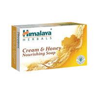 Himalaya Cream And Honey Nourishing Soap