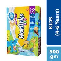Horlicks Junior 2 Health & Nutrition Drink Original Flavor Refill Pack (4-6 Years)