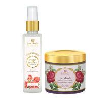 Just Herbs Summer Combo Rose Water Facial Mist & Anti-Tan Face Pack