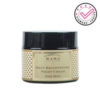 Kama Ayurveda Skin Brightening Night Cream For Men