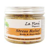 La Flora Organics Stress Relief Detox Bath & Foot Soak