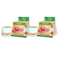 Vaadi Herbals Foot Cream With Clove Oil & Sandalwood - Pack of 2