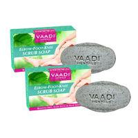 Vaadi Herbals Elbow-Foot-Knee Scrub Soap - Pack of 2