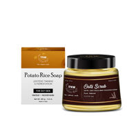 TNW The Natural Wash Potato Rice Soap Reduces Tanning & Pigmentation with Oats Scrub for Face Body
