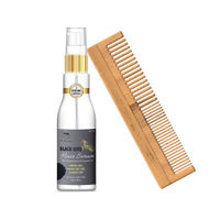 TNW The Natural Wash Hair Serum For Dry Frizzy Hair & Neem Wood Comb