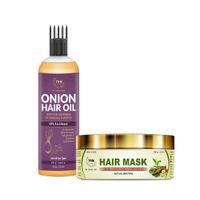 TNW The Natural Wash Onion Hair Oil For Hair Growth & Amla Hair Mask
