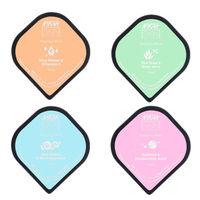 Nykaa Skin Secrets Sleeping Mask - Pack of 4