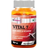 St.Botanica Vital 7 For Men & Women - 90 Veg Capsules