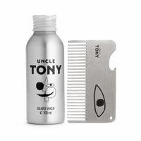 Uncle Tony Beard Wash + Comb Set