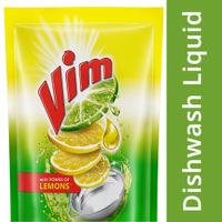 Vim Dishwash Gel Lemon