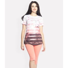 a1332e998 Sweet Dreams Women Half Sleeve T-Shirt   Capri Set - Multi-C..