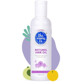The Moms Co. Natural 10 in 1 Baby Hair Oil