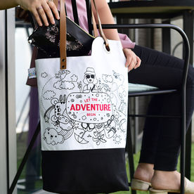 7d0f714d7fd Doodle Adventure Awaits - Gift Set of Bag and Pouch