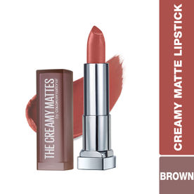 a264be020a2 Maybelline New York Color Sensational Creamy Matte Lipstick - Nude Nuance
