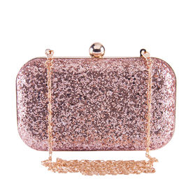 64623c6684ca2 Nykaa Party Edit Clutch - Rose Gold Diva