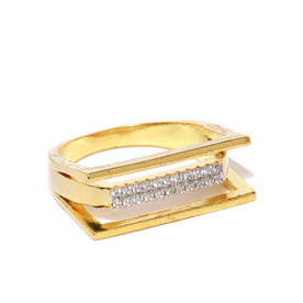 0e85287c4 Amavi Imperial Stacking Gold Plated Ring