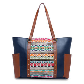 670742ef1c Kanvas Katha Fashion Pu Tote Bag