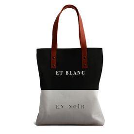 8ec978a9e37 DailyObjects Et Blanc En Noir Tote Bag