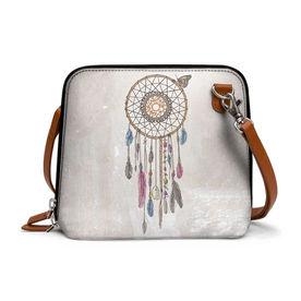 9552370f858 DailyObjects Lakota Dream Catcher - Trapeze Crossbody Bag