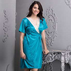 174e7e124 Clovia 6 Pc Nightwear Set - Blue (One Size)