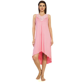 7a910df7eb3 S.O.I.E 3 4th Sleeve Night Gown - Pink