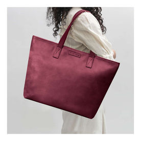 08b61d32090e DailyObjects Burgundy Faux Leather Fatty Women's Tote Bag