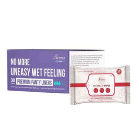 409d3805b137b Sirona Ultra Thin Premium Panty Liners - (Regular Flow) - 30 Counts With  Intimate