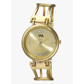 Wristwatches Active Ladies Watch By Elizabeth Rose Gold Tone Oriental Floral Style Dial Grey Strap