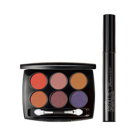 Lakme Eyeshadow (Nude Beach) + Mascara (Black) Combo